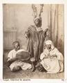 Fotografi från Tanger på ormtjusare, Marocko, 1800-tal - Hallwylska museet - 107258.tif