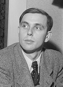 Diethard Hellmann, 1953 (Quelle: Wikimedia)