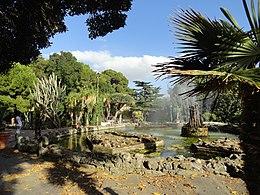 Fountain in Giardino Inglese, Palermo, Sicily, Italy (9456347445)