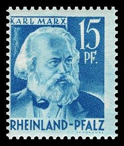 Fr. Zone Rheinland-Pfalz 1948 21 Karl Marx