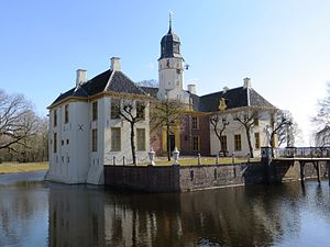 Borg (castle) - The Fraeylemaborg in Slochteren is now a museum