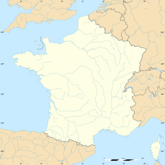Échebrune is located in França