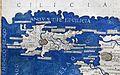 Francesco Berlinghieri, Geographia, incunabolo per niccolò di lorenzo, firenze 1482, 28 medio oriente 02 cipro.jpg
