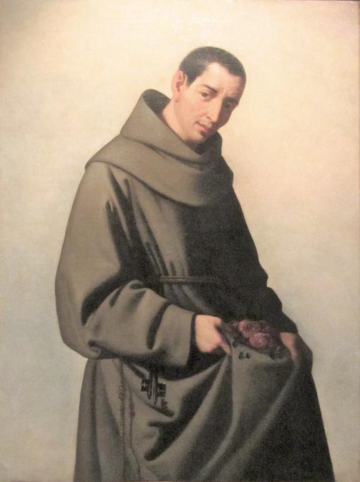 Francisco de Zurbarán (1651-1653) San Diego de Alcalá