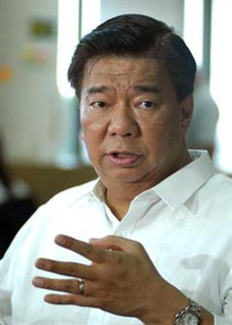 President of the Senate of the Philippines - Image: Frank Drilon