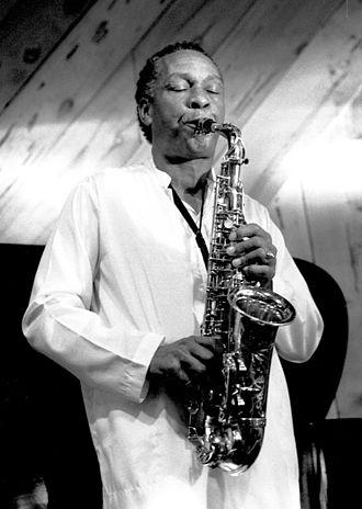 Frank Morgan (musician) - Morgan in Half Moon Bay, California, 1986