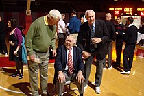 Frank Truitt with John Havlicek and Bob Knight - 2010.JPG