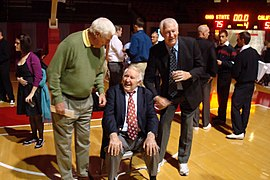 Frank Truitt with John Havlicek and Bob Knight - 2010.JPG