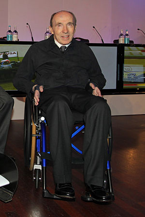 Frank Williams (Formula One) - Frank Williams in 2011