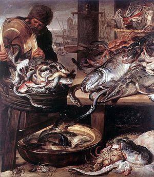 Le Poissonnier, Frans Snyders (1579-1653)).