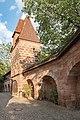 Frauentormauer 9, Mauerturm Blaues X Nürnberg 20180723 001.jpg