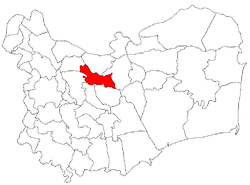 Location of Frecăţei
