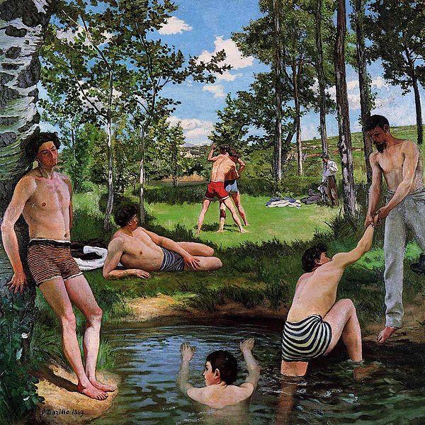 File:Frederic Bazille Summer Scene (Bathers).jpg