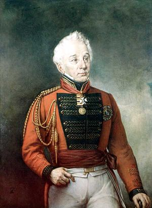59th (2nd Nottinghamshire) Regiment of Foot - General Sir Frederick Philipse Robinson, colonel of the regiment in the 1830s