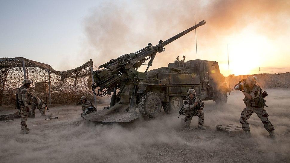French Ceasar Task Force Wagram Al Quim