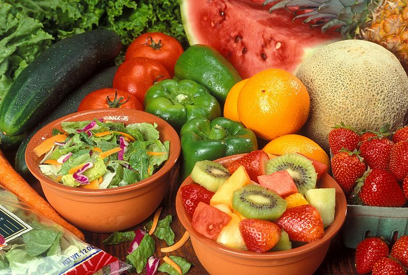 fruits vegetables fresh cut Alzheimer's