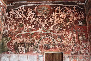 Andean Baroque Route - Fresco - Saint  John The Baptist of Huaro