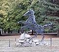 Friedenspark (Thale) Skulptur Wotans Zauberpferd.jpg