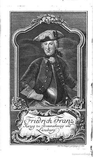 Frederick Francis of Brunswick-Wolfenbüttel - Image: Friedrich Franz von Braunschweig Lüneburg