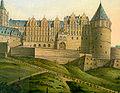 Friesenberg und Heidelberger Schloss von Charles de Graimberg (Ausschnitt).jpg