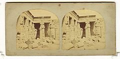 Frith, Francis (1822-1898) - Views in Egypt and Nubia - n. 385 - View of Medeenet Kaboo.jpg