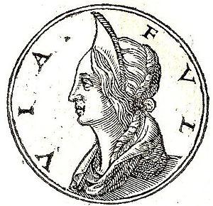 Fulvia - Fulvia from Promptuarii Iconum Insigniorum