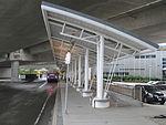Future Silver Line platform at Airport station, August 2015.JPG