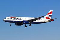 G-EUYI - A320 - British Airways