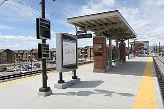 Arvada Ridge station