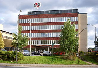 G4S - The former G4S offices in Västberga, Stockholm