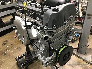 General Motors Atlas engine - Image: GM Atlas I6 front