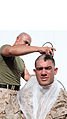 GSMT Co. Marines shave heads for cancer 140505-M-MM729-005.jpg