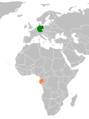 Gabon Germany Locator.png