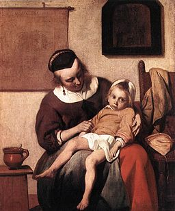 Gabriël Metsu - The Sick Child - WGA15091