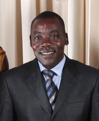 Vice-President of Burundi - Image: Gabriel Ntisezerana with Obamas cropped