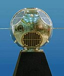 Model of Galactic Radiation and Background satellite1 (GRAB-1)