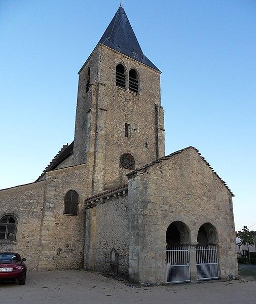 Église Saint-Étienne,  (Classé, 1944)
