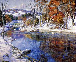 Gardner Symons - The first snowfall (c.1920).jpg