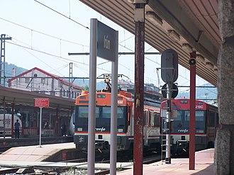 Irun railway station - Image: Gare d'Irún