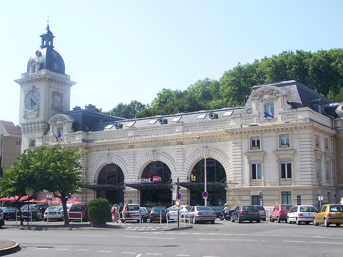gare de bayonne wikipedia. Black Bedroom Furniture Sets. Home Design Ideas