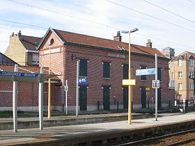 Gare de coudekerque branche wikip dia for Location garage coudekerque branche