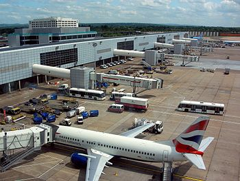 Gatwick airport travel guide at wikivoyage the north terminal at gatwick m4hsunfo