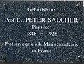 Geburtshaus Prof. Dr. Peter Salcher (1848 - 1928), Kreuzen 14, Kärnten.jpg