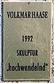 Gedenktafel Strandpromenade (Willst) hochwendelnd Volkmar Haase.jpg