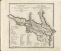General Map of Georgia. Showing Postal and Major Roads, Stations and the Distance in Versts Between Them- According to the Latest Verified Data in St. Petersburg in 1823 WDL2437.png