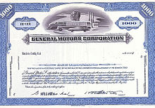 History of general motors wikipedia for General motors stock history