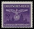 Generalgouvernement 1943 D28 Dienstmarke.jpg