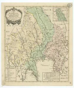 karta över dalarna och värmland Värmland – Wikipedia karta över dalarna och värmland