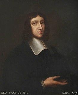 George Hughes (priest) English priest