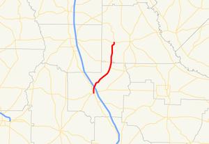 Georgia State Route 159 - Image: Georgia state route 159 map